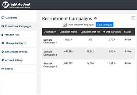 Recruitment Campaigns